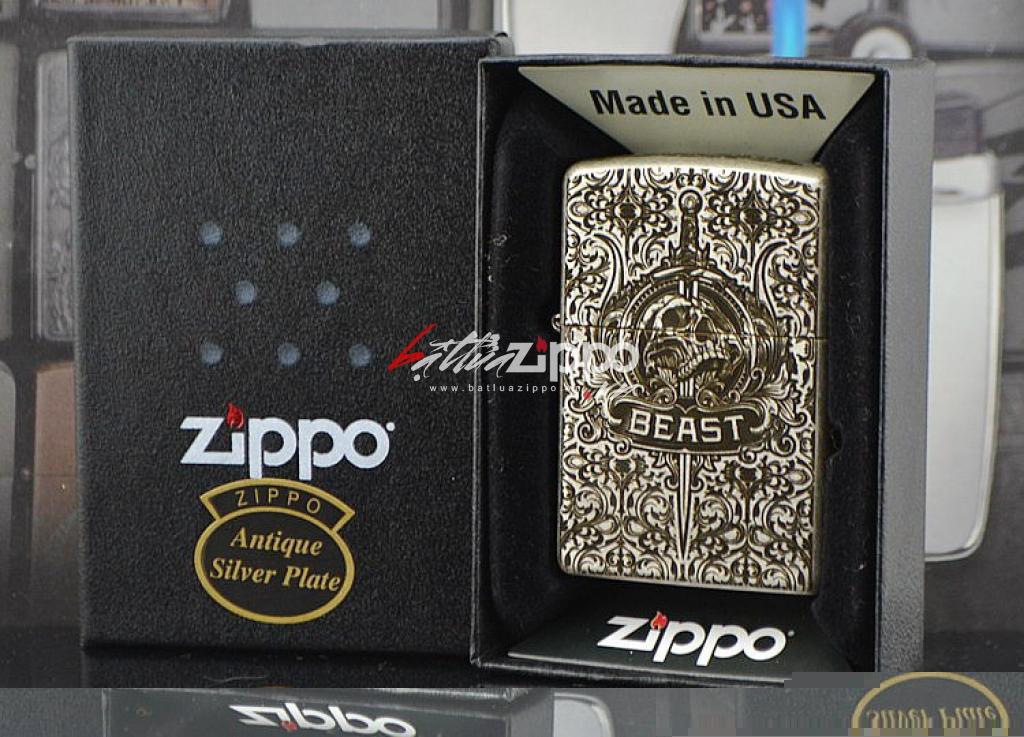 Bật lửa Zippo chính hãng 121FB Codex Gigas
