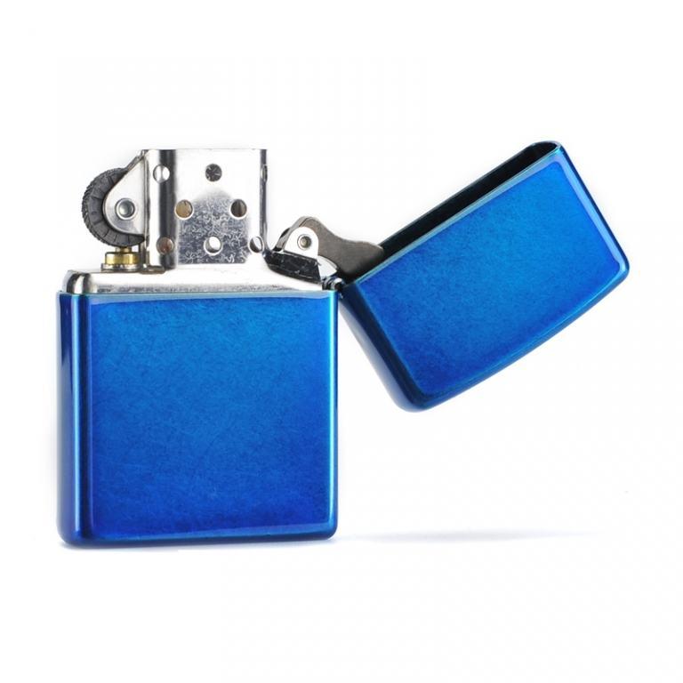 Bật lửa Zippo phiên bản sơn xanh bóng