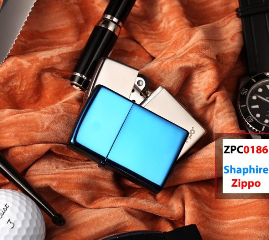 Zippo 20446 chính hãng 20446 Xanh Dương