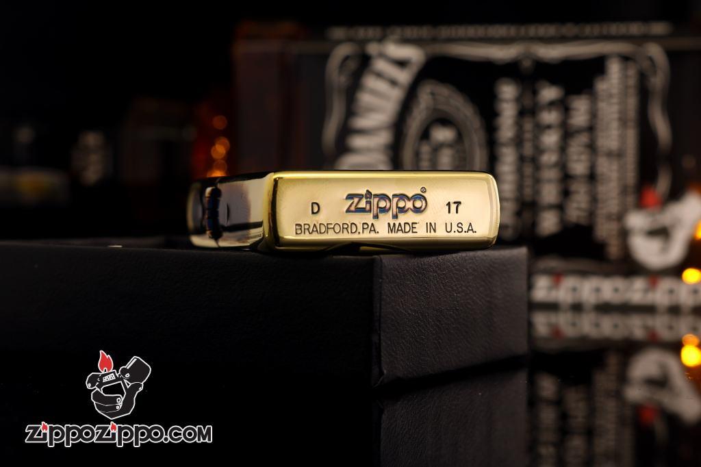 Zippo chính hãng đồng đốt hình đồng hồ