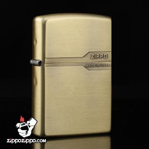 Bật lửa Zippo chính hãng đồng nhẹ thiết kế cổ điển