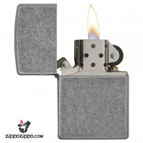Bật lửa Zippo chính hãng kiểu bạc cổ điển 121FB