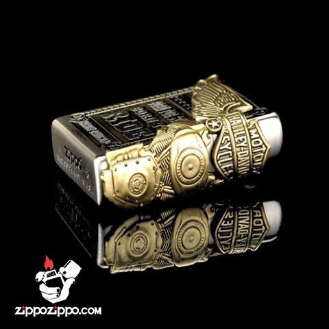 Bật lửa zippo HALEY DAVISION HDP-27 phiên bản Limited Edition
