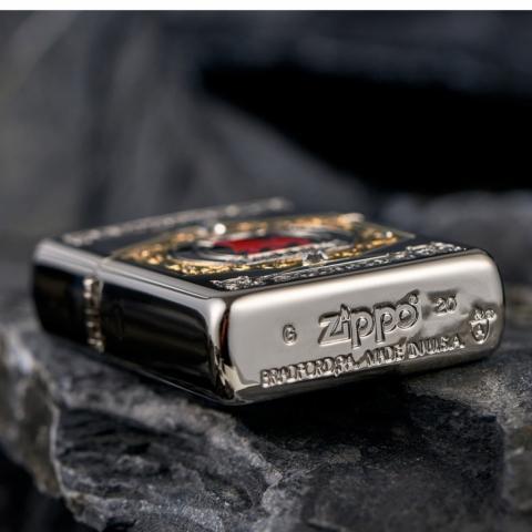 ZIPPO Armor Aniversary Limited 600 Millon Bản Châu Á
