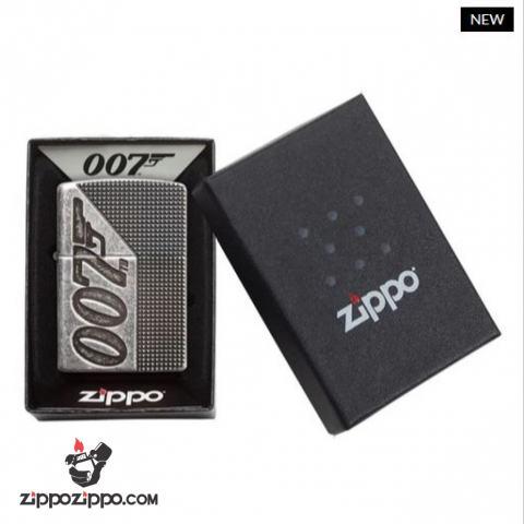 Zippo Armor Khắc  360 Mutilcut James Bond 007™