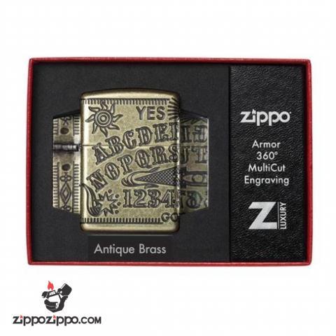 Zippo Armor MultiCut hình ảnh bàn cầu cơ bao quanh cả 4 mặt