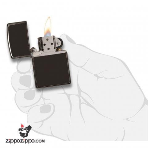 Zippo 24756  Chính Hãng Màu Đen Mun