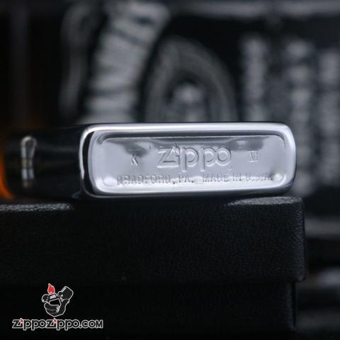 Zippo cổ khắc hình tổng thống Mỹ sản xuất 1990