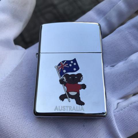 Zippo hình gấu AUSTRALIA sản xuất năm 2000 (cái)